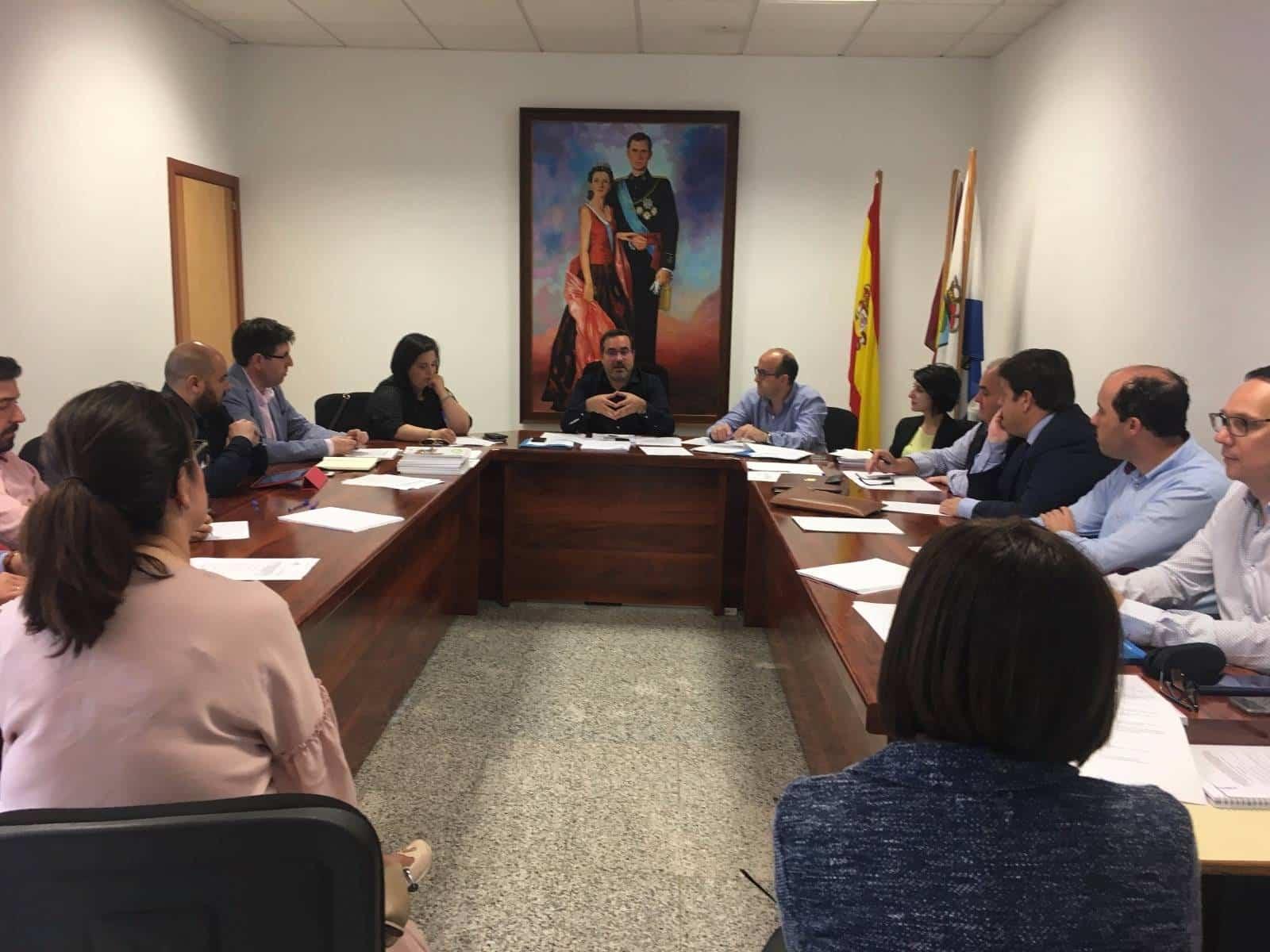 asamblea mancha norte mayo 2018 - Asamblea Ordinaria de Mancha Norte para dar cuenta de los 23 proyectos subvencionados para la dinamización de la Comarca