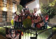 Los atléticos de Herencia celebran ser campeones de la Europa League