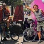 ciclistas 150x150 - Perlé llegado a Dhaka vuela a Bangkok por su cumpleaños.
