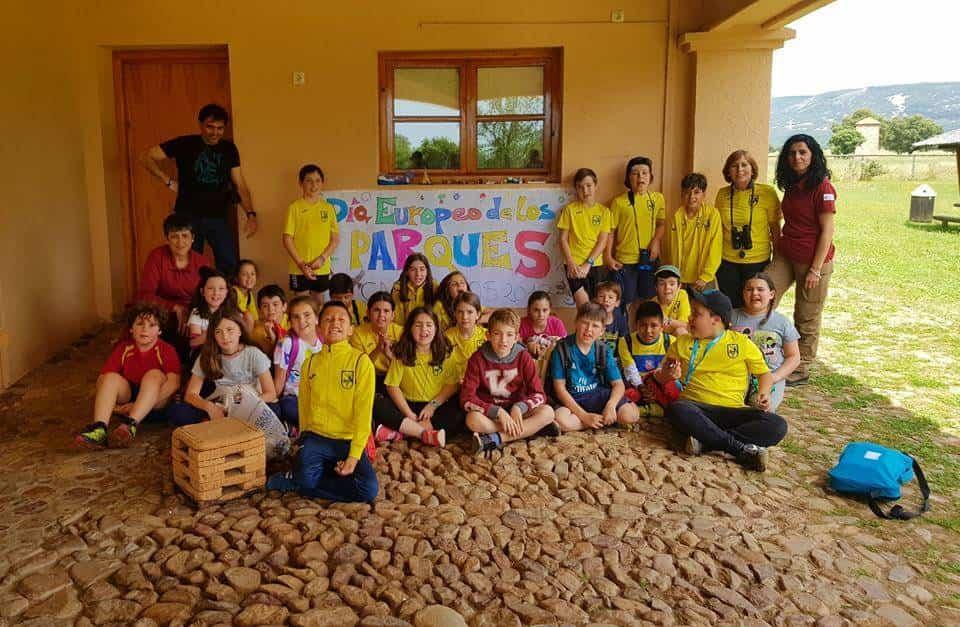 colegios dia parques en cabaneros - Alumnos del Carrasco Alcalde visitan el Parque Natural de Cabañeros