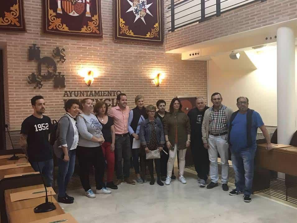 contituido el pleno vecinal en Herencia - Constituido el pleno vecinal que gestionará los presupuestos participativos