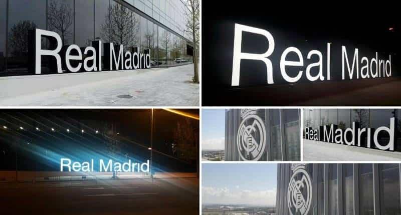 ext - Tecnoseñal realiza la señalización exterior de la ciudad del Real Madrid C. F.