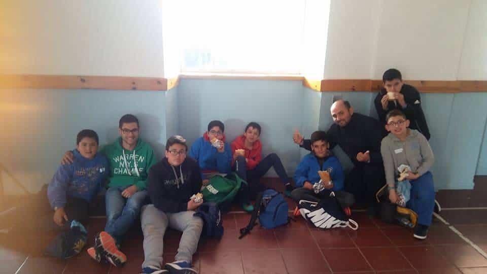 monaguillos de Herencia en el seminario - Institución de monaguillos en la parroquia de Herencia
