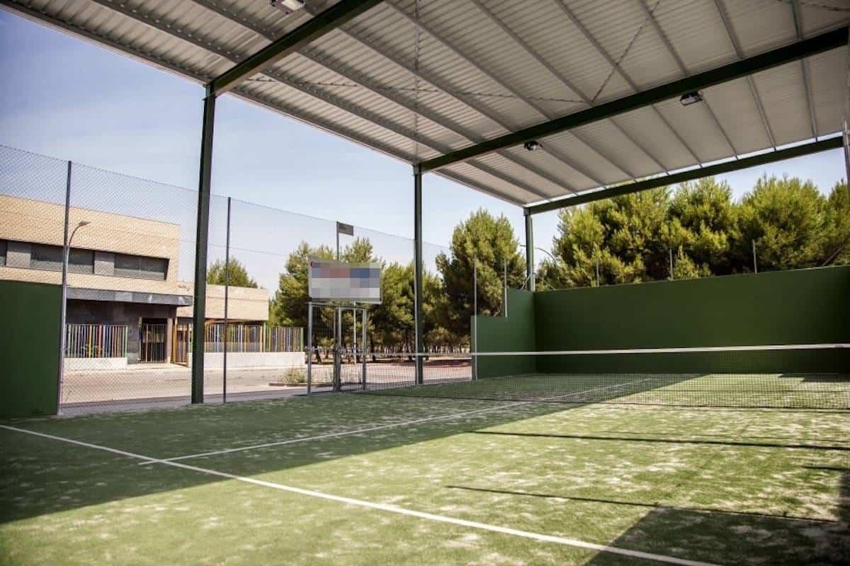pista cubierta de padel de herencia - Herencia presenta su nueva herramienta de reserva de instalaciones