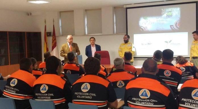 Protección Civil de Herencia mejoran técnicas y procedimientos contra incendios