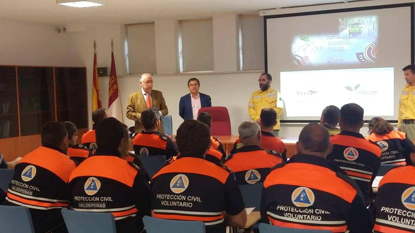 proteccion civil mejoran tecnicas contra incendios - Protección Civil de Herencia mejoran técnicas y procedimientos contra incendios