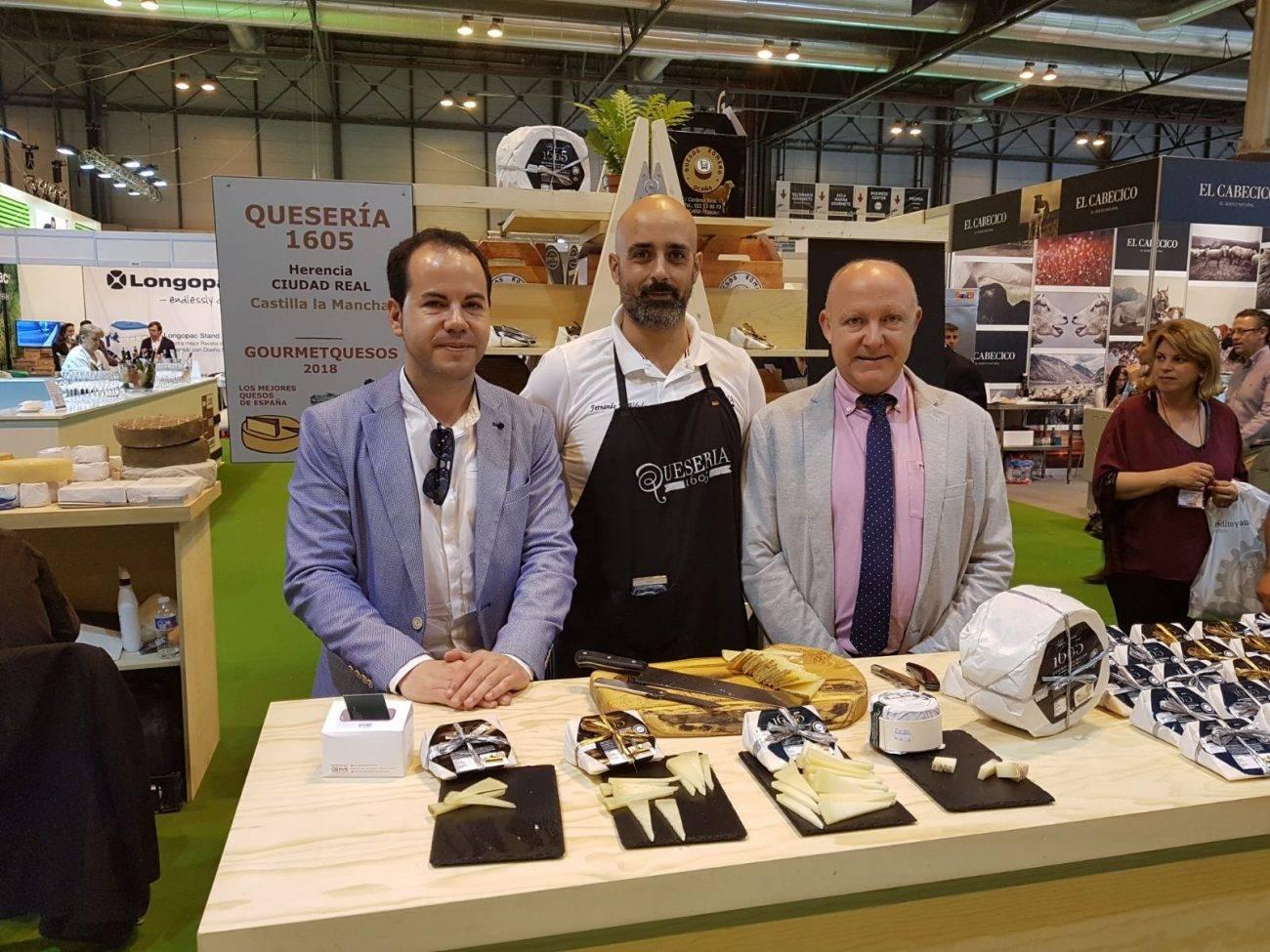 queso de Herencia en el XXXII Sal%C3%B3n de Gourmets - Quesería 1605 en el Salón de Gourmets de Madrid
