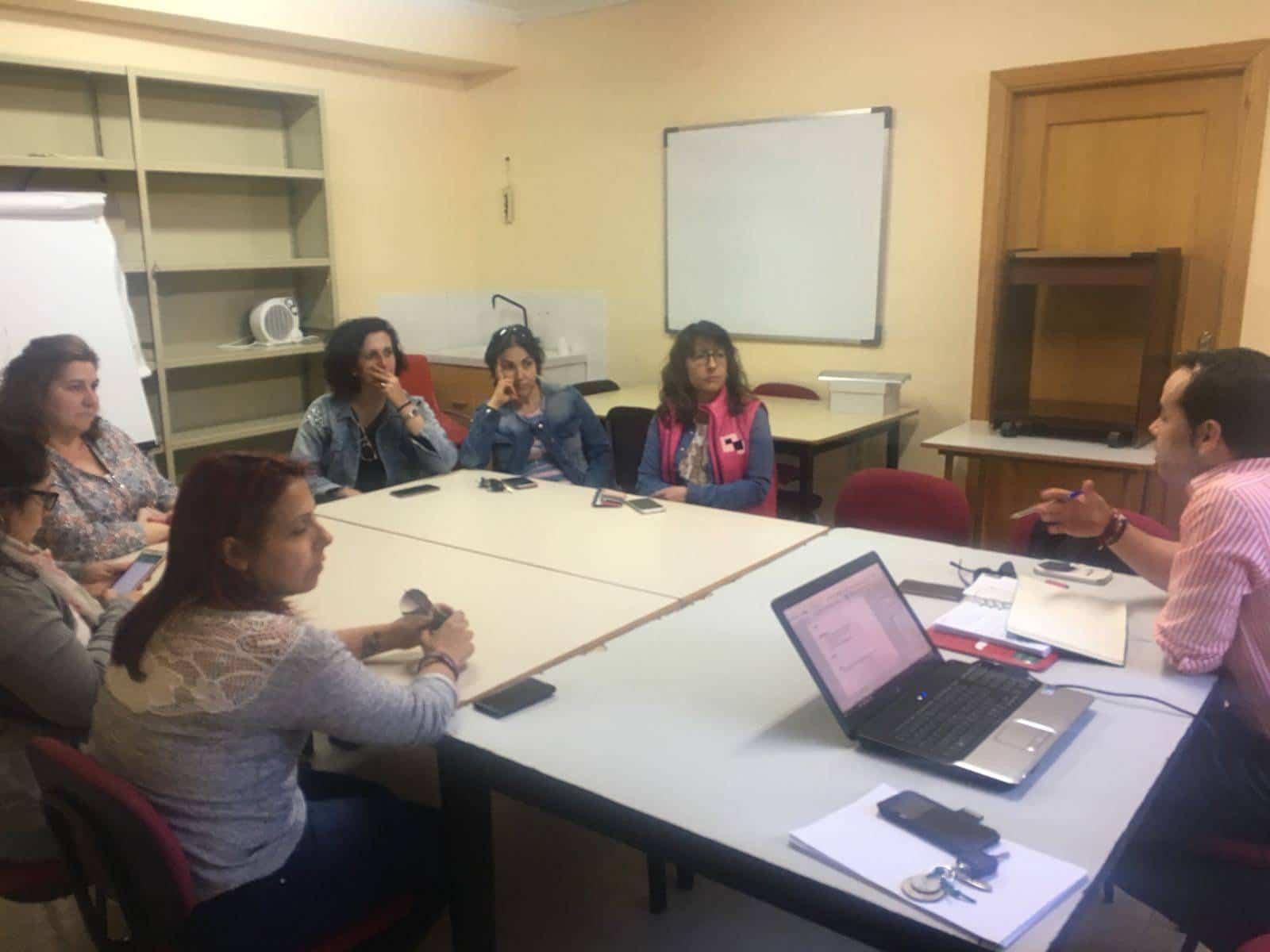 reuniones padres escuelas deportivas herencia - Las Escuelas Deportivas de Herencia se reúnen con padres y madres