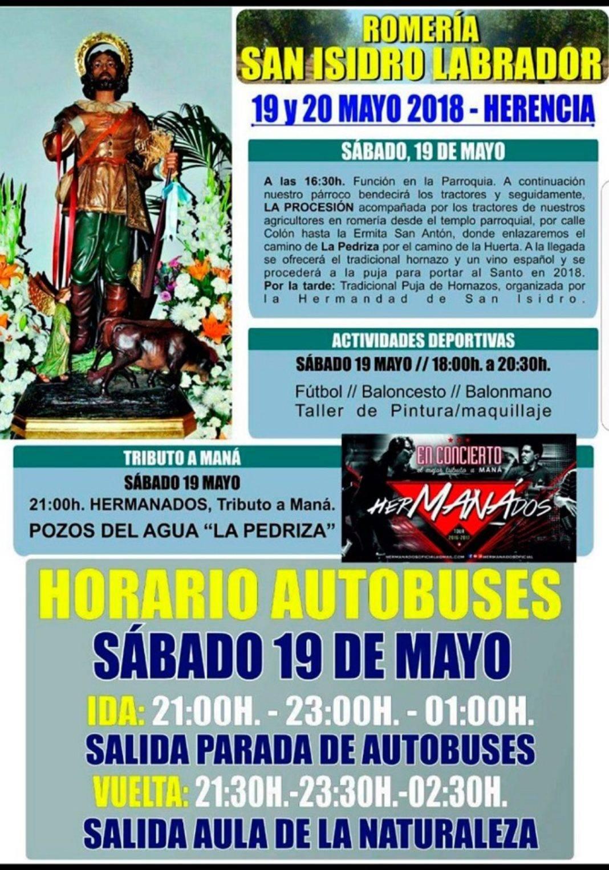 romeria san isidro labrador herencia 2018 1068x1527 - La emblemática Pedriza acoge este fin de semana la romería de San Isidro Labrador