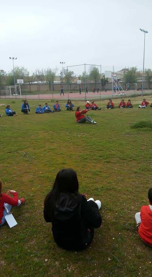 san jorge scout herencia en ciudad real - Scout de Herencia participaron de la festividad de San Jorge en el Seminario