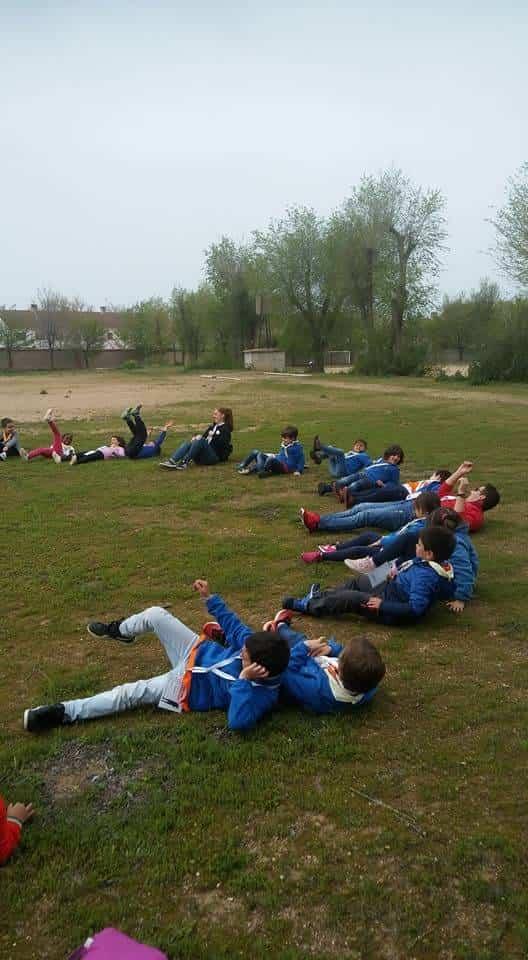 Scout de Herencia participaron de la festividad de San Jorge en el Seminario 8