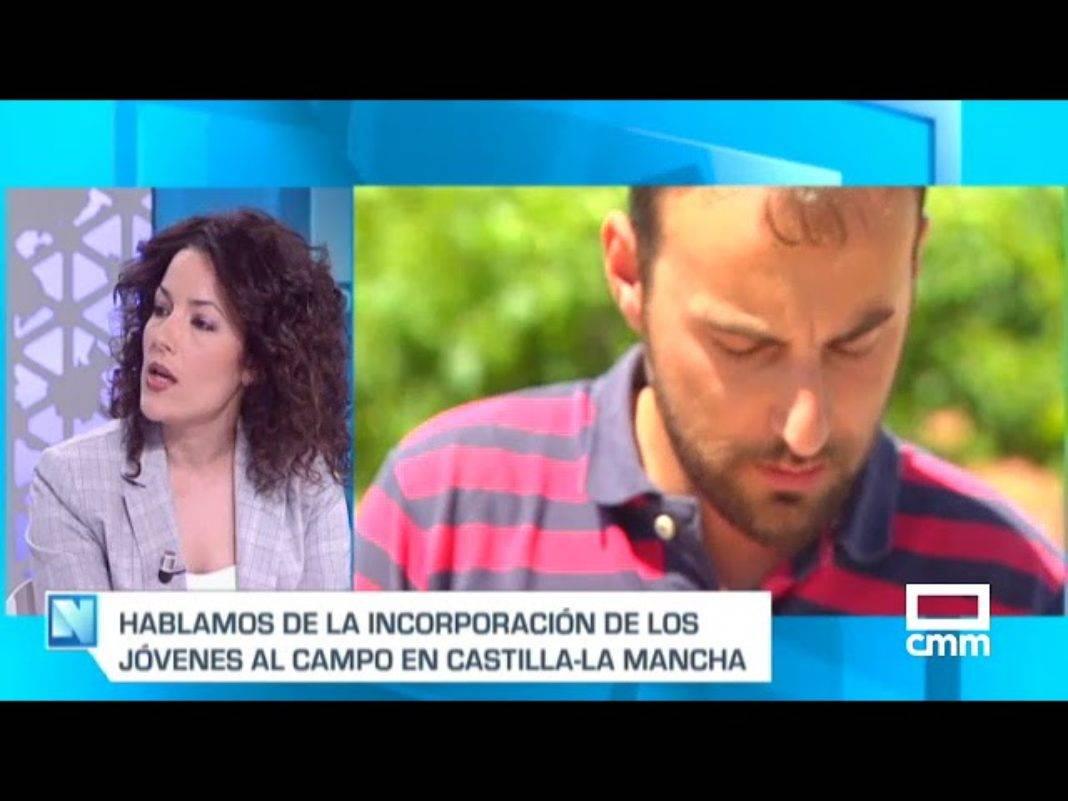 Inés Guillén en el programa de televisión Castilla-La Mancha despierta 1