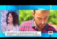 Inés Guillén en el programa de televisión Castilla-La Mancha despierta