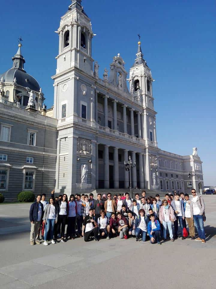 seminario menor mercedario de Herencia en la Almudena de Madrid - Herencia invitada a la misa por el VIII centenario de la Orden de la Merced en la archidiócesis de Madrid