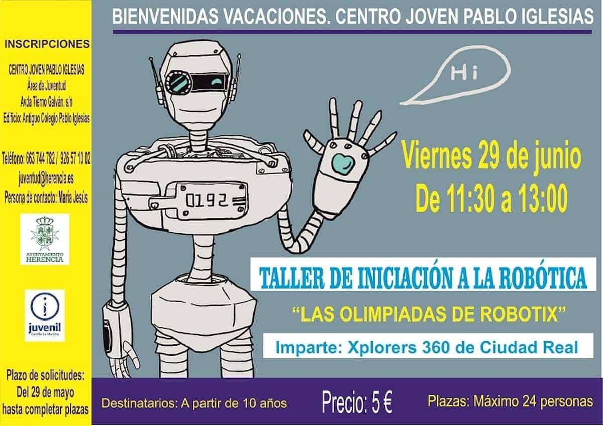 """taller iniciacion robotica herencia - Taller de iniciación a la robótica: """"Las olimpiadas de Robotix"""""""