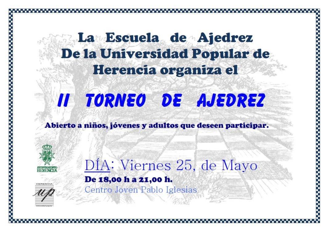 torneo ajedrez herencia 1068x754 - II Torneo de Ajedrez de la Escuela de Ajedrez de Herencia