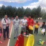 Entrega de trofeos del I Torneo Interescuelas de Tenis y Pádel 21