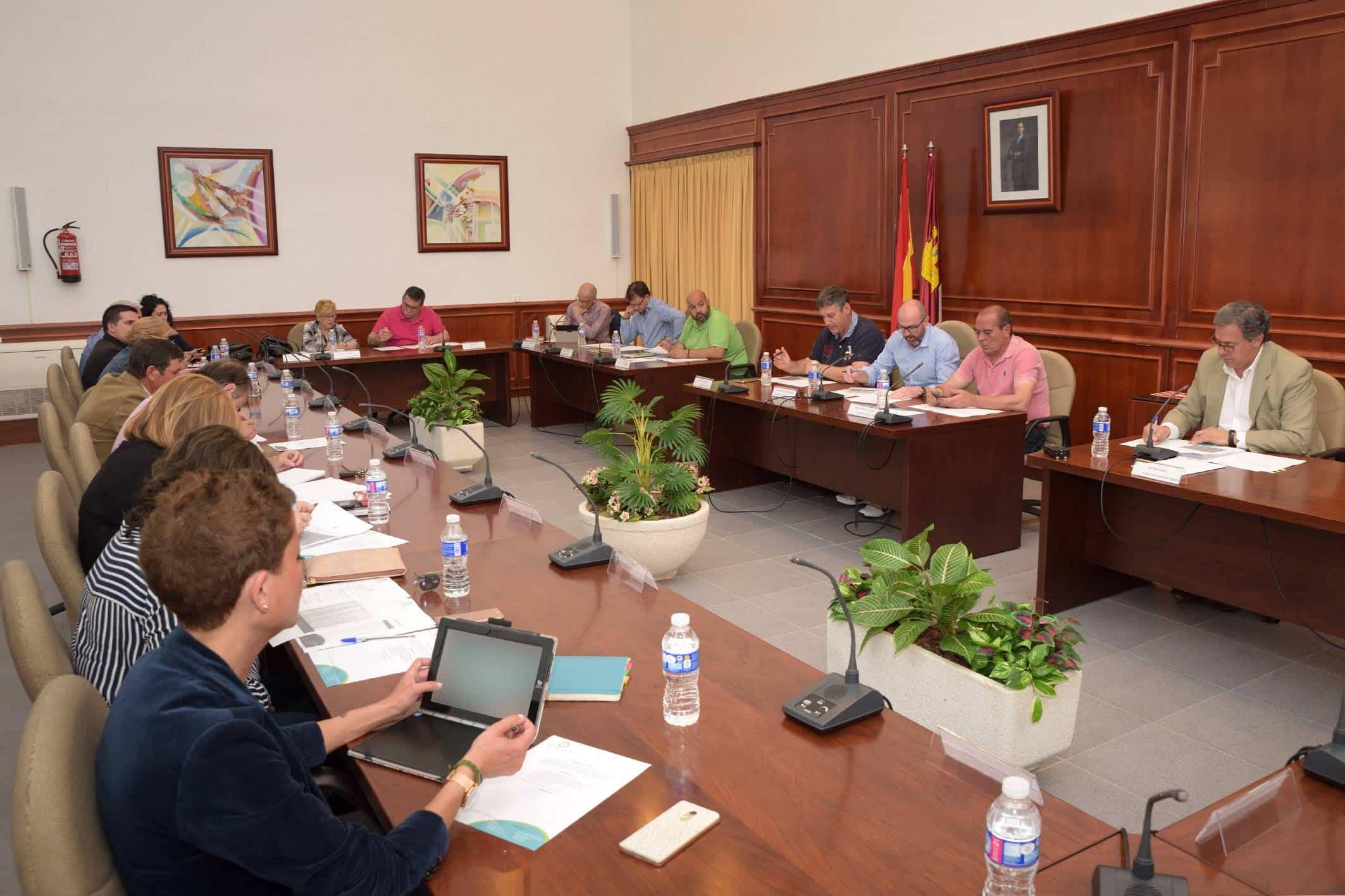 20180506 Pleno Ordinario Comsermancha - El Pleno de Comsermancha celebró su sesión ordinaria del mes de junio