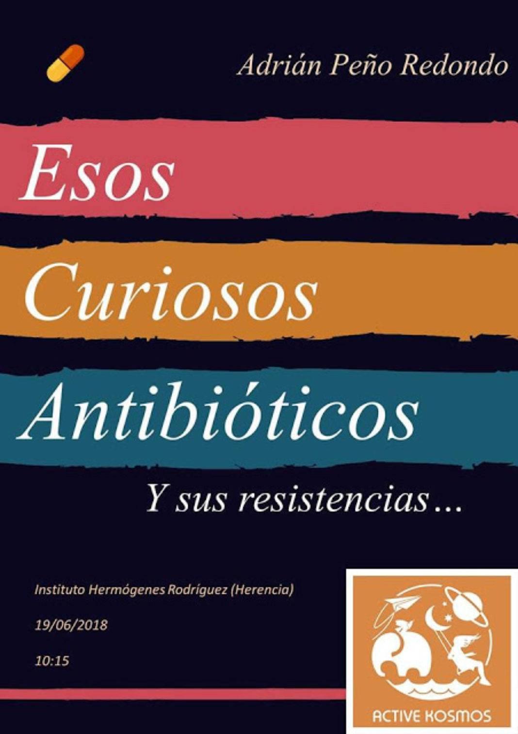 ADRIÁN PEÑO RESISTENCIA A LOS ANTIBIÓTICOS 1068x1512 - Charla sobre los antibióticos en el IES Hermógenes Rodríguez