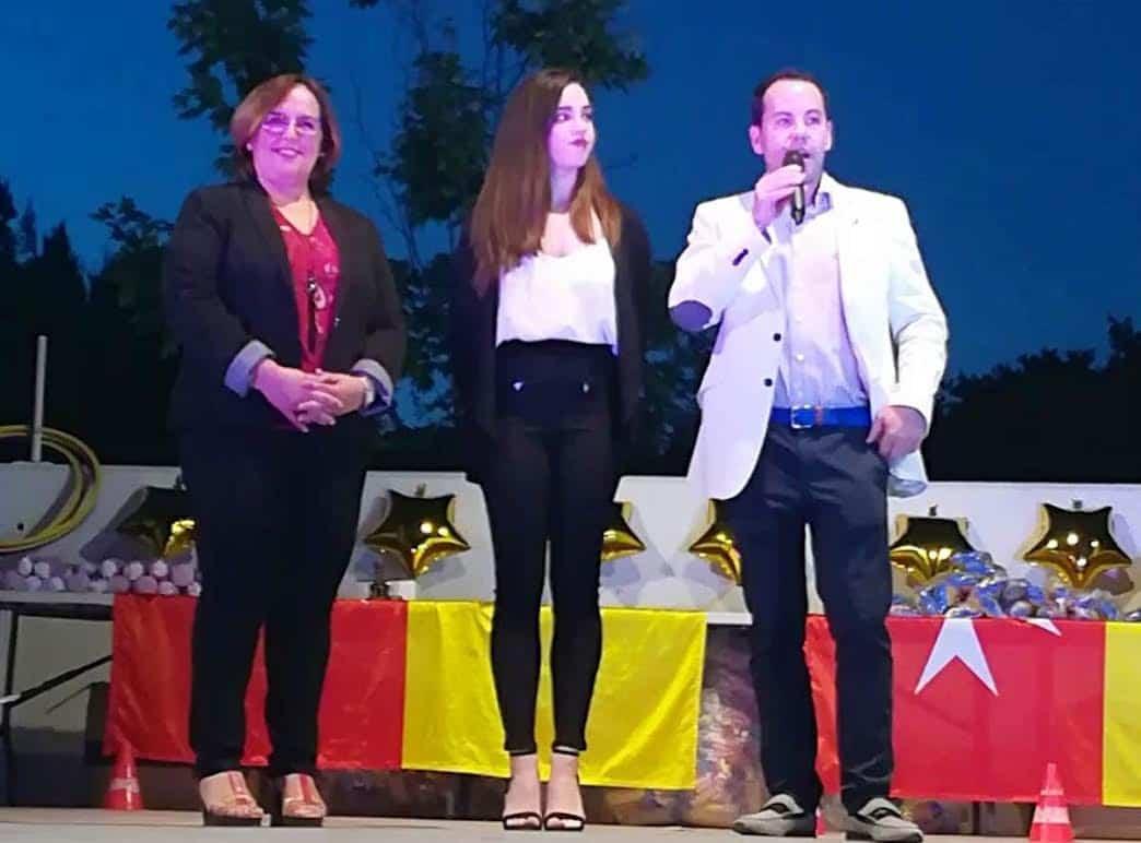 Carmen Olmedo en la gala del deporte de Herencia 2018 - Carmen Olmedo participó en la Gala del Deporte de Herencia