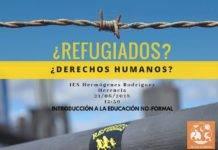 Active Kosmos, El Uali y el IES Hermógenes Rodríguez con los refugiados