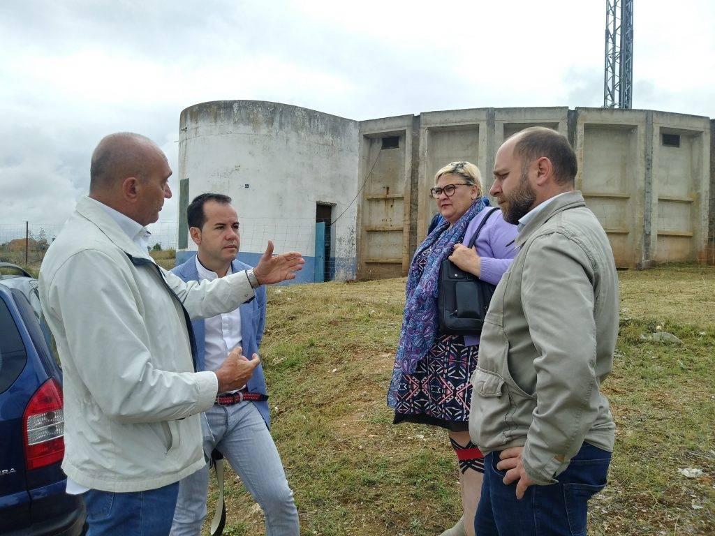 El Polígono Industrial ya tiene garantizado el abastecimiento de agua ante eventuales cortes  - Puesta en marcha del depósito regulador de agua del polígono industrial