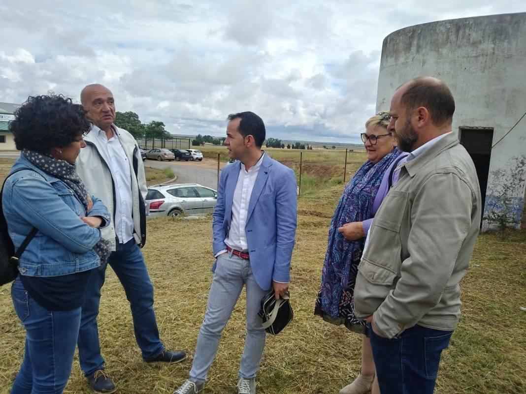 Puesta en marcha del depósito regulador de agua del polígono industrial 13