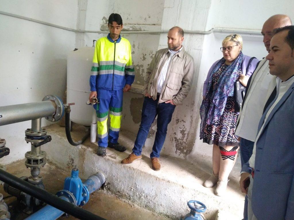 El Polígono Industrial ya tiene garantizado el abastecimiento de agua ante eventuales cortes 2 - Puesta en marcha del depósito regulador de agua del polígono industrial