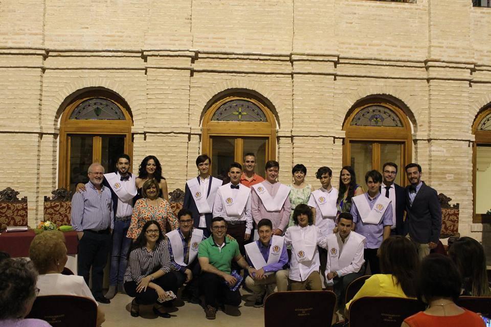 Graduaci%C3%B3n alumnos cuarto de la eso seminario menor mercedario 2018 - José María Fernández-Baillo logra el premio MAESA 2018 al mérito académico