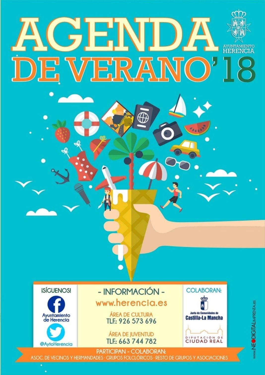 Herencia agenda cultural de verano 1068x1513 - Presentada la agenda cultural para el verano en Herencia