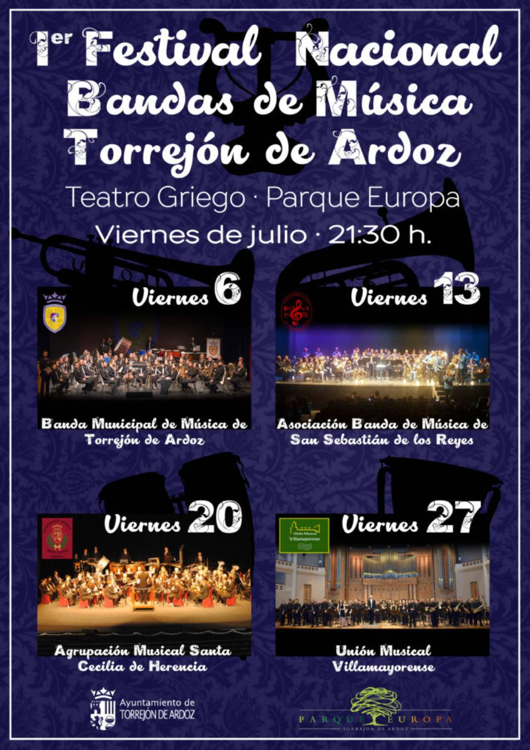 I Festival Nacional de Bandas de Música de Torrejón de Ardoz 1068x1511 - Herencia en el I Festival Nacional de Bandas de Música de Torrejón de Ardoz