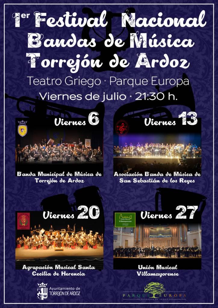 I Festival Nacional de Bandas de M%C3%BAsica de Torrej%C3%B3n de Ardoz - I Festival Nacional de Bandas de Música de Torrejón de Ardoz contó con presencia herenciana