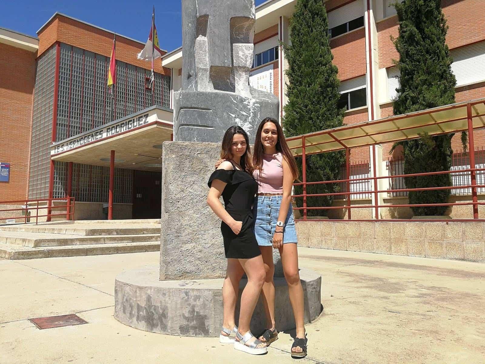 Irene Arevalo y Laura Garcia - Irene Arévalo y Laura García: El éxito en EVAU