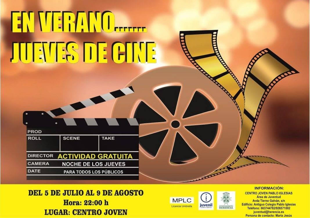 Jueves de Cine 1068x752 - Jueves de película en el Centro Joven Pablo Iglesias durante el verano