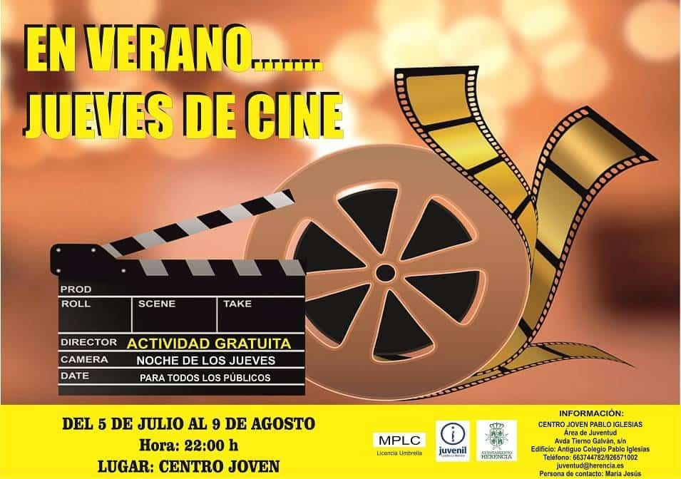 Jueves de Cine - Jueves de película en el Centro Joven Pablo Iglesias durante el verano