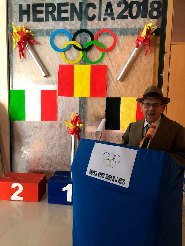 Olimpiadas nuestra señora de la merced de Herencia - La residencia Nuestra Señora de La Merced celebra sus particulares Juegos Olímpicos
