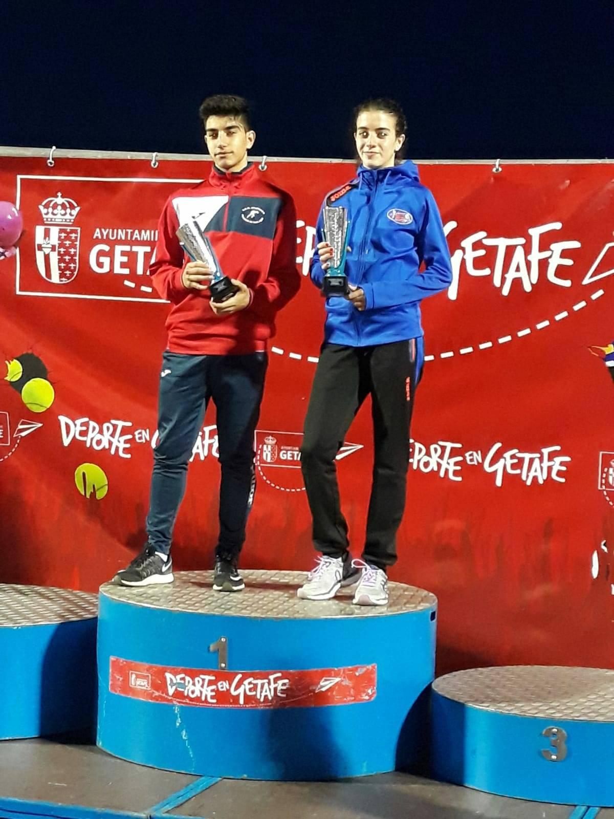 El atleta local Héctor Martín-Toledano ganador de la XXIX Carrera Popular Ciudad de Getafe 1