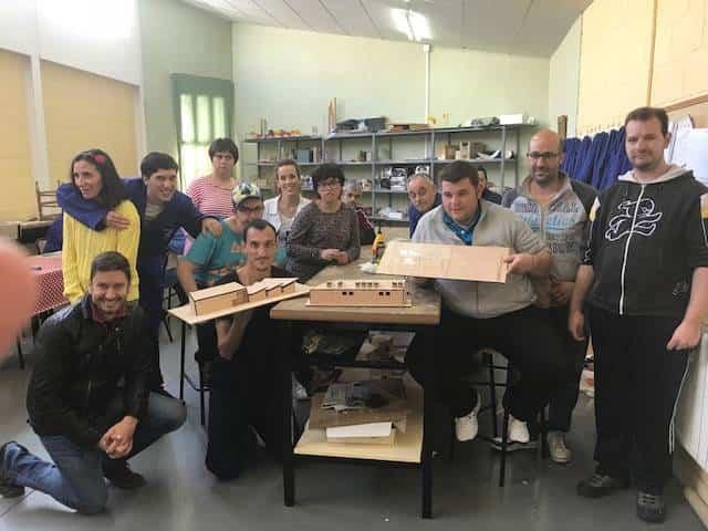Traza2 finaliza su taller de maquetas en el centro ocupacional El Picazuelo 9