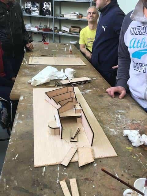 Traza2 finaliza su taller de maquetas en el centro ocupacional El Picazuelo 10