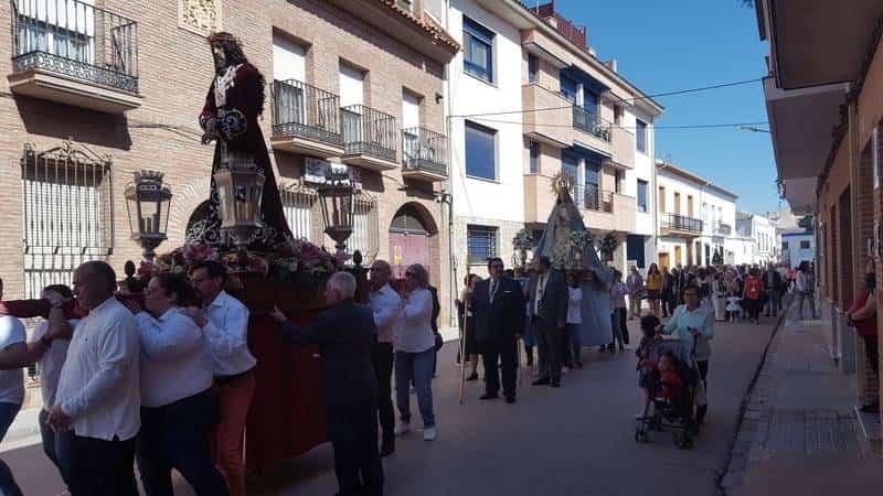 V Encuentro regional de hermandades de jesus de medinaceli en Herencia01 - Hermandades de Jesús de Medinaceli de Castilla-La Mancha, Madrid y Ávila se dan cita en Herencia