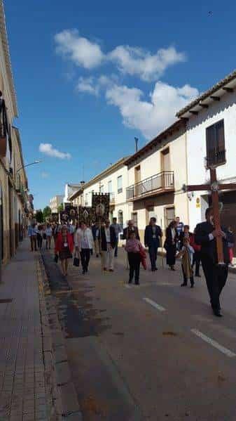 V Encuentro regional de hermandades de jesus de medinaceli en Herencia02 e1529509930264 - Hermandades de Jesús de Medinaceli de Castilla-La Mancha, Madrid y Ávila se dan cita en Herencia