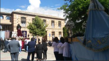 V Encuentro regional de hermandades de jesus de medinaceli en Herencia04 369x207 - Hermandades de Jesús de Medinaceli de Castilla-La Mancha, Madrid y Ávila se dan cita en Herencia