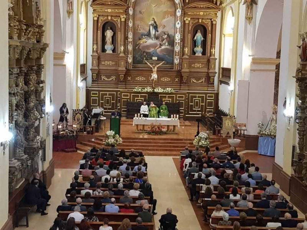 V Encuentro regional de hermandades de jesus de medinaceli en Herencia07 1068x801 - Hermandades de Jesús de Medinaceli de Castilla-La Mancha, Madrid y Ávila se dan cita en Herencia
