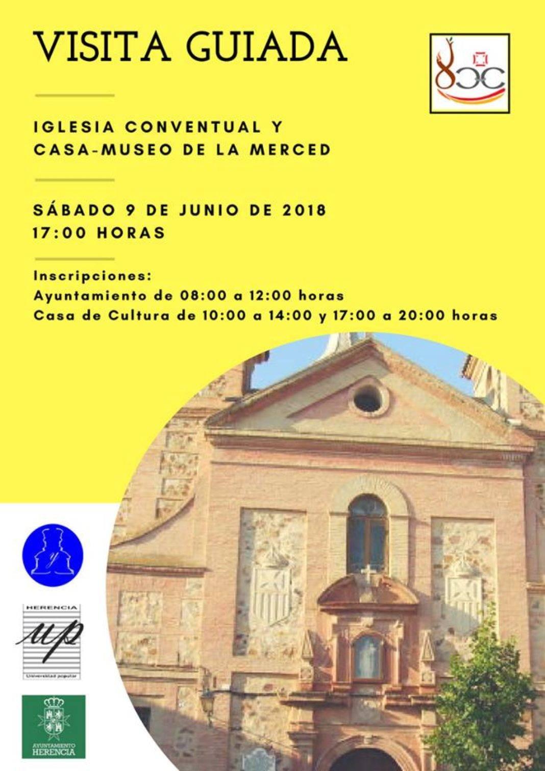 Visita guiada a la iglesia conventual de la merced de HErencia 1068x1512 - Visita guiada a la iglesia conventual y casa-museo de La Merced