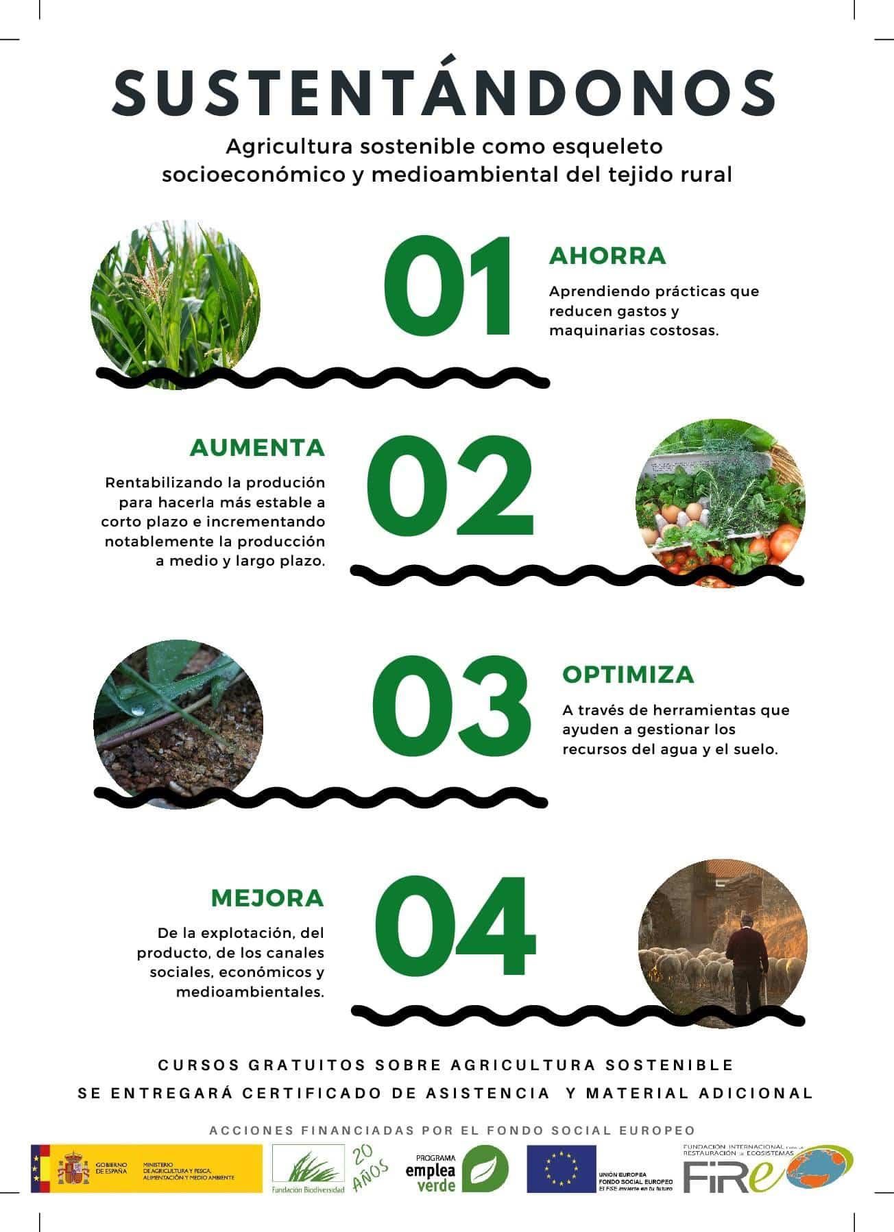 agricultura sostenible herencia 2 - Cursos gratuitos sobre agricultura sostenible en Herencia