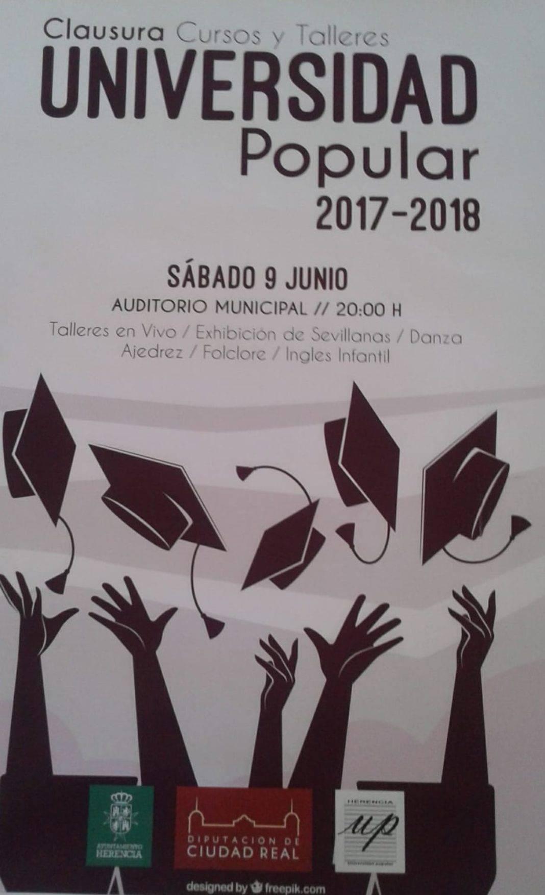 Fiesta de fin de curso de los talleres de la Universidad Popular 4