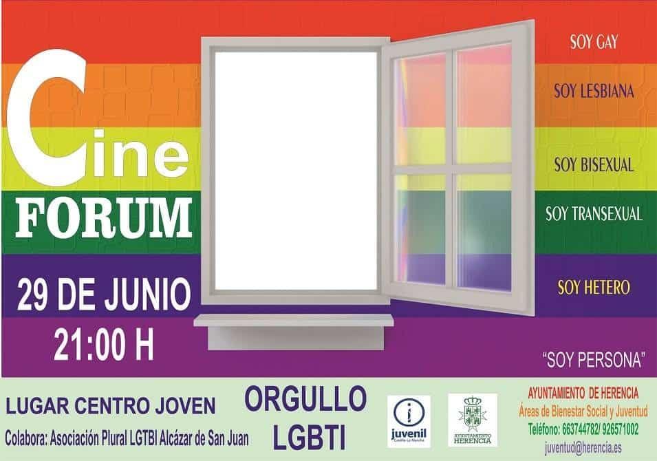 cine forum LGTBI - Cine Forum para conmemorar el Día Internacional de la Diversidad Sexual