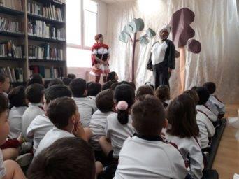 cuentacuentos biblioteca Herencia1 342x256 - Cuentacuentos en la biblioteca para los colegios de Herencia