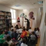 Cuentacuentos en la biblioteca para los colegios de Herencia 5