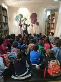 cuentacuentos biblioteca Herencia4 204x272 - Cuentacuentos en la biblioteca para los colegios de Herencia